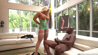Not roundabout Busty Blond Hair Lady Had Sex Wits A Big Black Saus - alura jenson