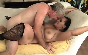 Morose and horny milf gets her ass and pussy demolished so good