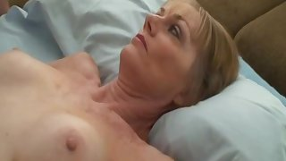 Kinky Grandma Playing Sex Games