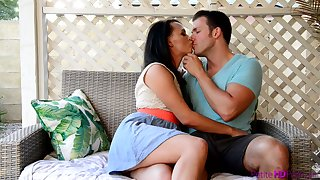 Enjoy such a steamy intercourse with basic sex poses with Alex More