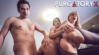 PURGATORYX The Slut Inventor Part 3 with Cherie and Tara