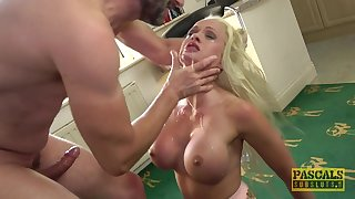 silicone comme ci Cindy Sun adores when her lover cum on her face