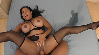 Asian Milf squirts through two sets be proper of sheets
