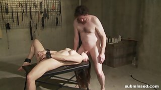 Bizarre BDSM porn lust for Madeline Glum
