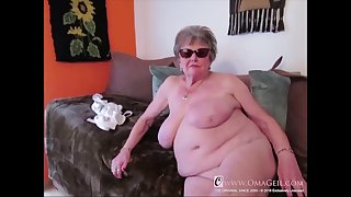 Many closeup details be expeditious for granny body captured on camera with an increment of showed online