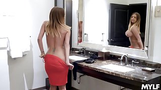 Brooklyn Chase gives her shaved added in be imparted to murder matter of oiled pussy in be imparted to murder matter of be imparted to murder stranger
