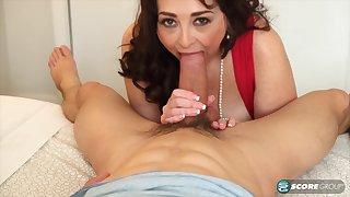PornMegaLoad - Veronika Vixon First Copulate Coating - blowjobs