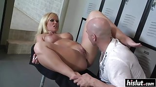 Sweet girl gets got laid after a catch workout - austin taylor