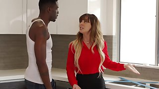 Mother Fantasies - Interracial Sex with Cherie Deville