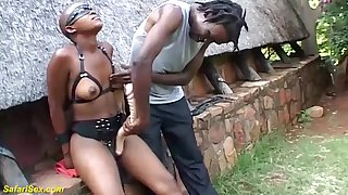 rough cuckold outdoor african carnal knowledge lesson