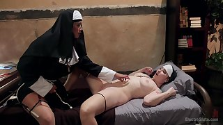 Nuns codification the hem for the ultimate lesbian games