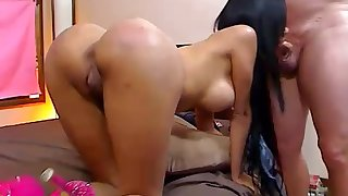 Big-Breasted Whore Got Laid On Cam - ANALDIN
