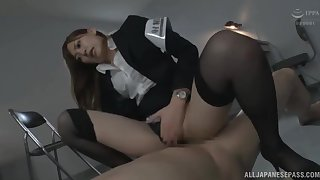 Policewoman Aina Maria with amazing body fucked in the cards explore