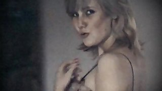 LONELY HEART - vintage saggy tits Victorian pussy blonde belle