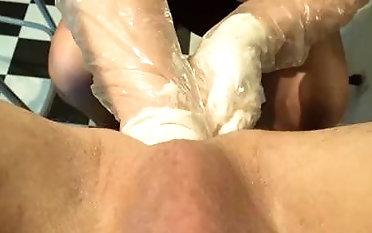 Effectively mega-slut kicks the knit of her victim domination & obedience pornography