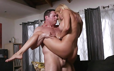 Super steamy milf gets rub-down the dick in rough modes
